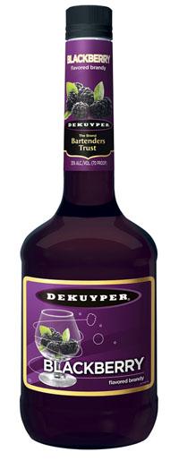 Logo for Dekuyper Blackberry Brandy