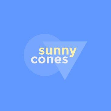 Sunny Cones - Logo template