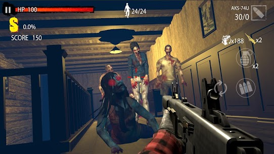 Zombie Hunter D-Day MOD APK 1.0.806 [Unlimited Money + No Ads] 3