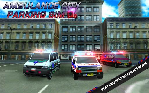 Ambulance City Parking Sim