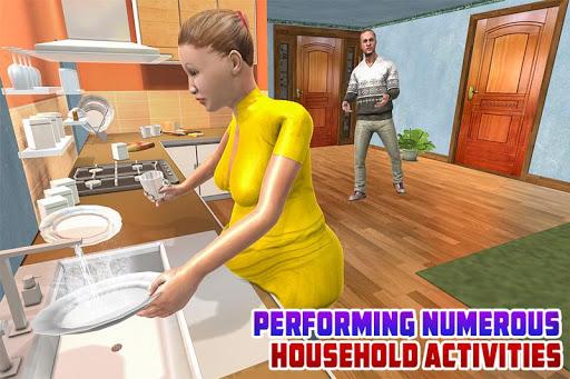 Virtual Pregnant Mom: Happy Family Fun 1.0 APK MOD screenshots 2
