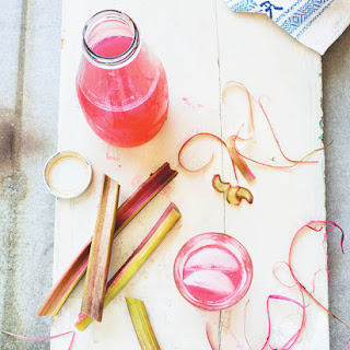 Alcohol-Free Rhubarb Refresher.
