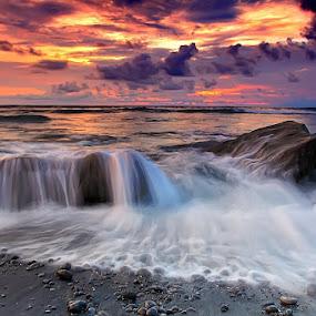 The motion by Krishna Mahaputra - Landscapes Sunsets & Sunrises ( landscape )
