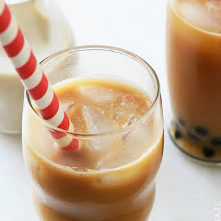 Iced Bubble Coffee.