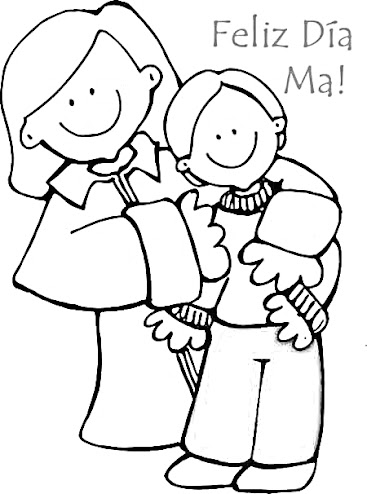 feliz dia mamá
