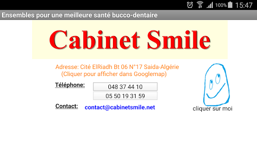 CabinetSmile des Dr keirless