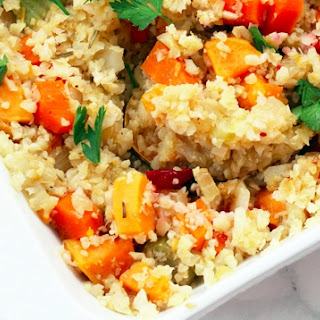 Paleo Thanksgiving Cauliflower Stuffing (AIP & Low Carb).