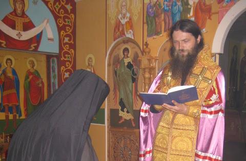 Праздник апостолов Петра и Павла в Богоявленском монастыре