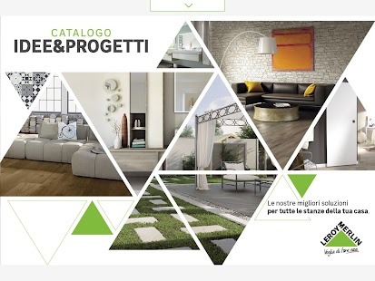 Catalogo progetti app android su google play for Leroy merlin catalogo generale