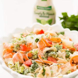 10 Minute Ranch Tortellini Pasta Salad.
