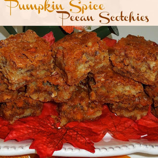 Pumpkin Spice Pecan Scotchies