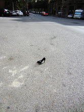 Photo: Someone lost a shoe on the street