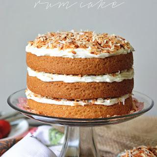 Triple Coconut Rum Cake