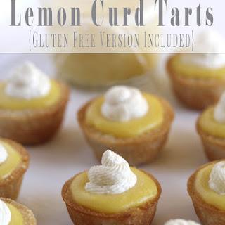 Lemon Curd Tarts.