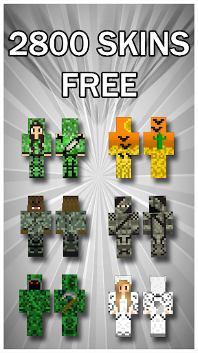 Camouflage Skins For Minecraft PE 1.0 screenshots 1