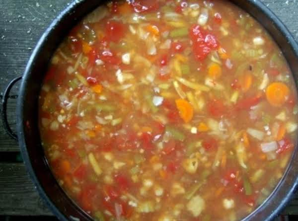 Mary Alice's Homestyle Vegetable Soup