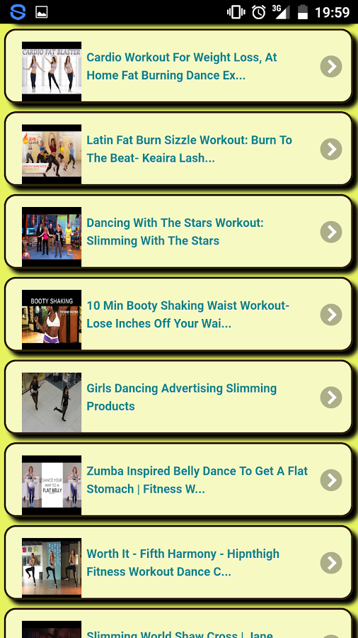 Slimming Dancing- screenshot