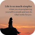 The Best Lessons in Life Quotes icon
