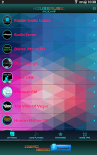 House Music Radio App- screenshot thumbnail