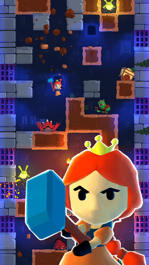 Screenshot 1 Once Upon a Tower 15 APK MOD