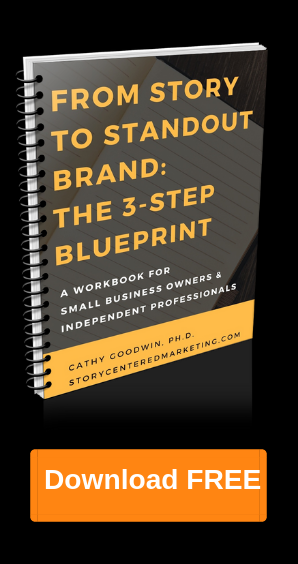 branding, storytelling & copywriting for small business & entrepreneurs by cathy goodwin