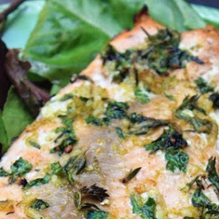 Grilled Citrus Herb Salmon