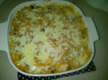 Double Cheese Hamburger Casserole Recipe