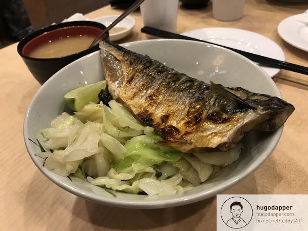 美觀園 台北老字號日式旋轉火車美食 叉燒拉麵 丼飯 鯖魚