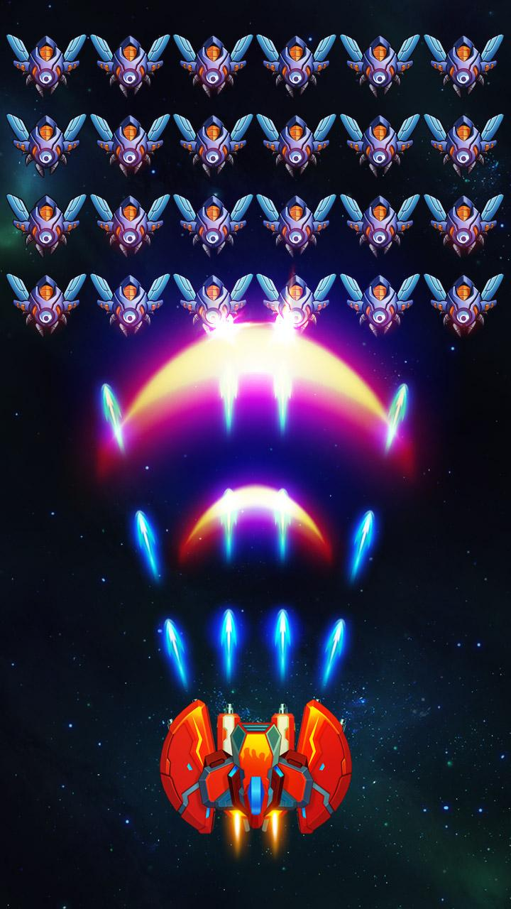 Free Download Galaxy Invaders: Alien Shooter Cheat APK MOD