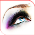 Change Eye Lens and Brow icon