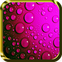 Running Raindrops Live Wallpaper icon