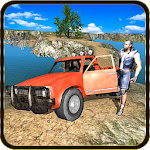 4x4 Truck Off-road Driver 3D Icon