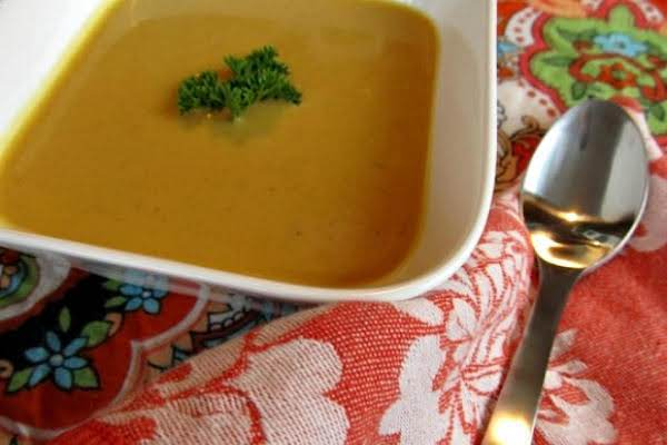 Pam's Sweet Potato And Peanut Bisque Recipe