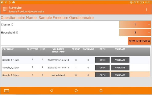 Surveybe CAPI Software- screenshot thumbnail