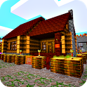 Village Craft - Building Huts and Houses icon