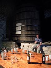 Photo: Degustace místních sladkých vín