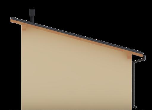 G93 - Elewacja tylna