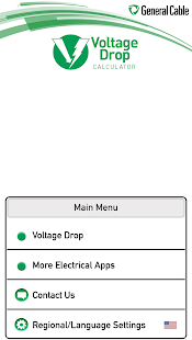 General cable voltage drop apps on google play screenshot image keyboard keysfo Gallery