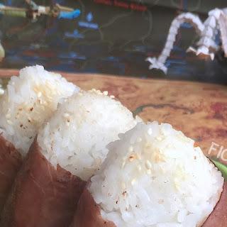Meaty Rice Balls.