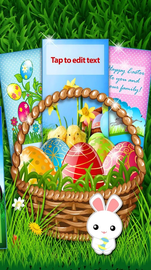 Happy Easter Greetings Cards- screenshot