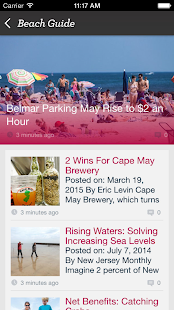 Jersey Shore Beach Guide- screenshot thumbnail