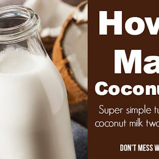 How to Make Coconut Milk with Dried Coconut Flakes Recipe