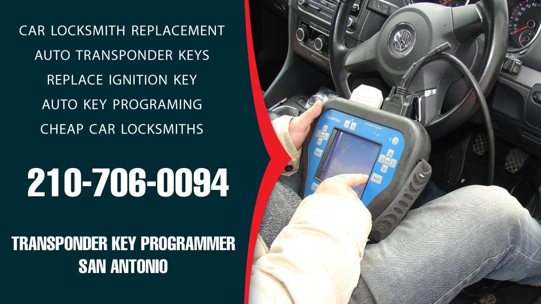 Transponder Key Programmer San Antonio - Locksmith in SAN