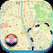 クロアチアオフラインロードマップガイド