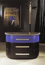 Photo: Modell Tizio mit Marmorplatte