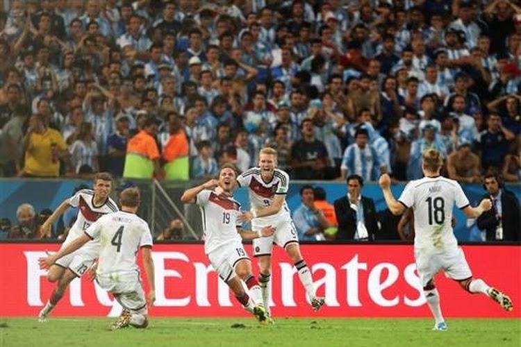 L'Allemagne championne du monde