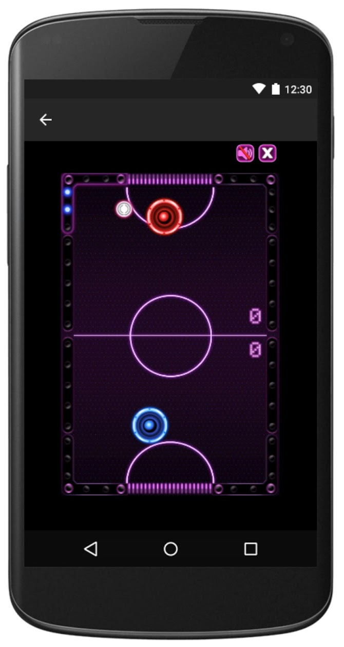 Air Hockey -Fast Paced Table-Sport Simulation Game Android 5