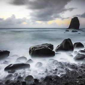 Anaga Beach  by Frederik Schulz - Landscapes Waterscapes