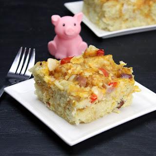 Ham'n Taters Breakfast Casserole.