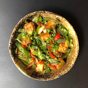 Chilli Paneer Warm Salad (V)